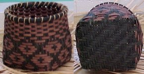Chief's Daughter Cherokee Basket