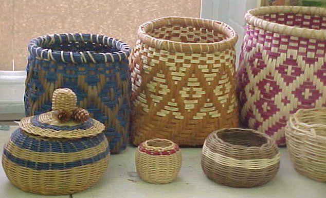 Baskets by Burl Ford