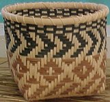 Chief's Daughter and Fish Scale Basket